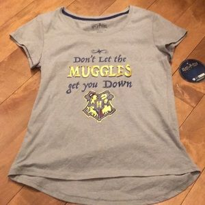 NWT Harry Potter Don't Let Muggles Get You Down T